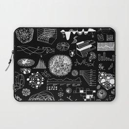 INFOGRAPHICS_MONO Laptop Sleeve