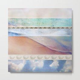 Sea Shore Treasures I Metal Print
