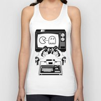 joy division Tank Tops featuring Joy(stick) Division by Roberlan Borges