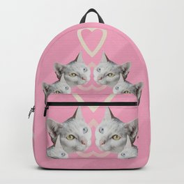 Cat Pink Trip Backpack