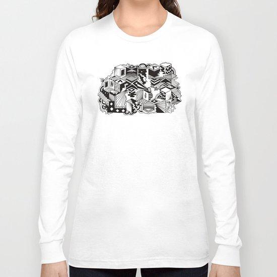 Cube-ular Long Sleeve T-shirt