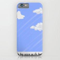 Un buen día. Slim Case iPhone 6s
