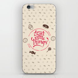 Sweet Little Things iPhone Skin