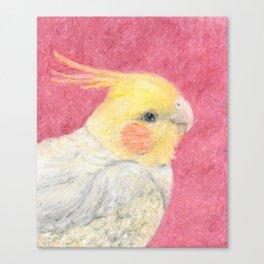 Pretty Birdie Canvas Print