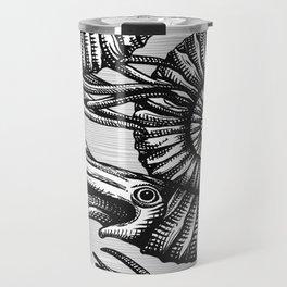 AMMONITE COLLECTION B&W Travel Mug
