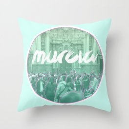 Murcia is color Throw Pillow