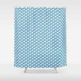 Wavy Shower Curtain
