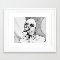birdman Framed Art Prints featuring Birdman by Lou Patrou