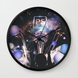 YOUR OWN WORLD Wall Clock