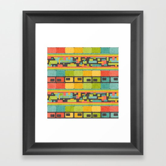 Retro Overload Framed Art Print