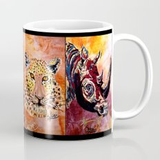 Quilted African Life. Mug