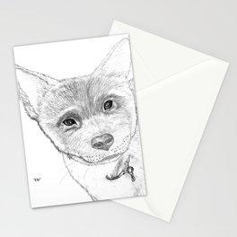Portrait of Eli Stationery Cards