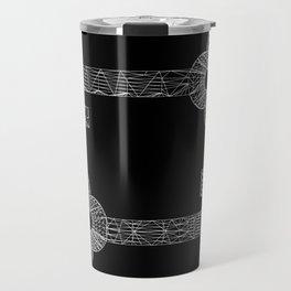 CASTLE KEYS b/w Travel Mug