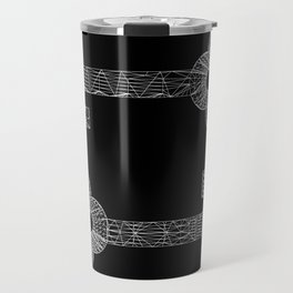 CASTLE KEYS b/w Travel Mug