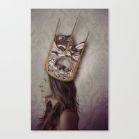 royal Canvas Prints featuring Royal by Adelle Rae