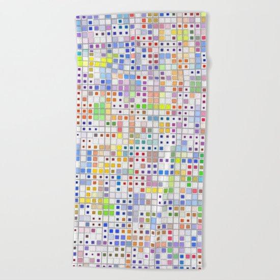Mosaic #9 Beach Towel