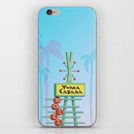 Yuma Cabana iPhone Skin
