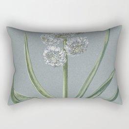 Hendrik Budde - Hyacint Markgraaf Karel van Baden Durlach (1720-1729) Rectangular Pillow