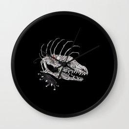 Punk Dawg Skeleton Wall Clock