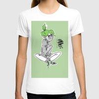 bianca green T-shirts featuring green by Art of Bianca