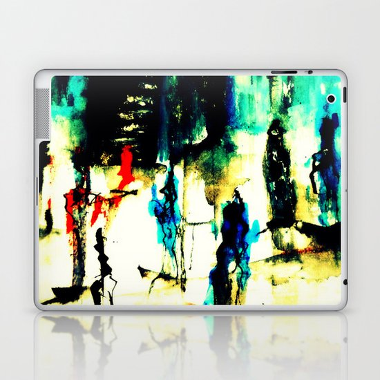 down the stairs Laptop & iPad Skin