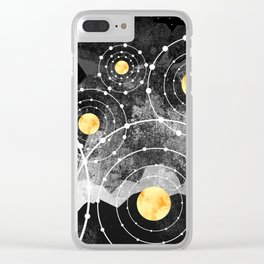 Stars of the galaxy Clear iPhone Case