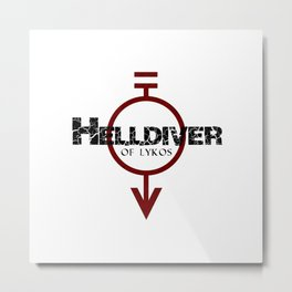 Helldiver of Lykos Metal Print