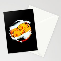 Japanese (Red-Crowned) Cranes Stationery Cards