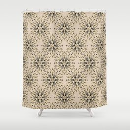 Ice flower 1b Shower Curtain