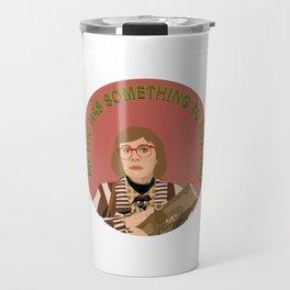 Log Lady Travel Mug