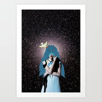 lsd Art Prints featuring LSD by Mrs Araneae