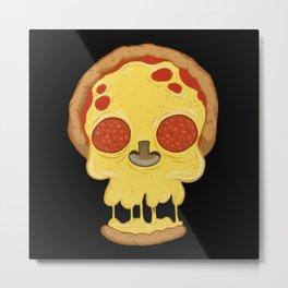 Deadly pizza Metal Print