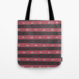 Haikyuu!! Nekoma Bows Tote Bag