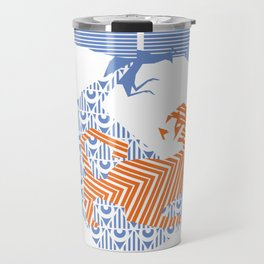 fray (colour) Travel Mug