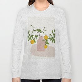 Lemon Branches Long Sleeve T-shirt
