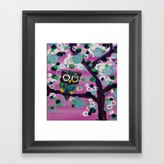 :: Gemmy in Pink :: Framed Art Print