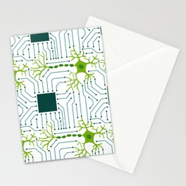 Neural Network 1 Stationery Cards