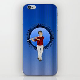 Flute Player iPhone Skin