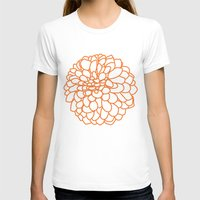 dahlia T-shirts featuring Dahlia by AleDan
