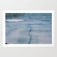 Frozen Four Art Print