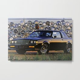 1987 Grand National Turbo Metal Print