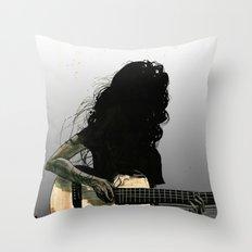 Silhouette Folk Throw Pillow