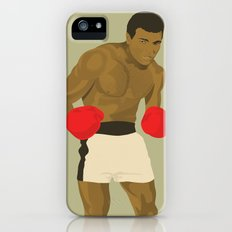 Cool image of a boxer iPhone (5, 5s) Slim Case