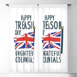 Happy Treason Day - Funny 4th of july Blackout Curtain