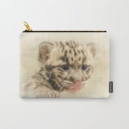 CUTE CLOUDED LEOPARD CUB Carry-All Pouch