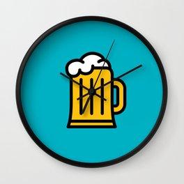Beer - Icon Prints: Drinks Series Wall Clock