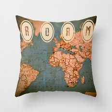 ROAM II Throw Pillow
