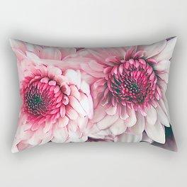 Pink asters Rectangular Pillow