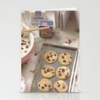 baking Stationery Cards featuring Baking Memories by Miniature Love