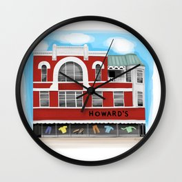 The Franklin Building - Warren Ohio 100 Wall Clock